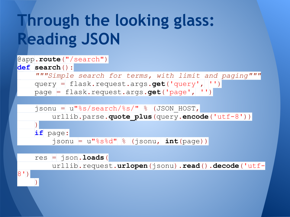 Coffee|Code: Dan Scott's blog – A Flask of full-text search
